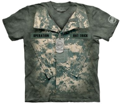 Tričko unisex The Mountain OHT Uniform Military - AT-digital, L