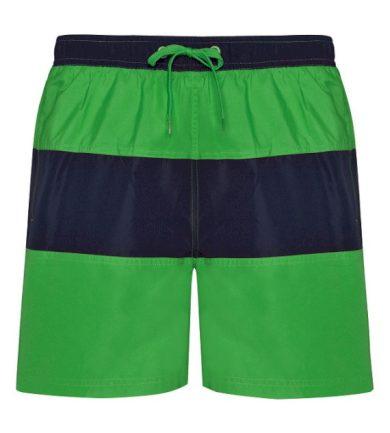 Pánské plavecké šortky Roly Moorea - zelené-navy, L