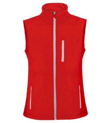 Pánská vesta Roly Nevada - červená, XL