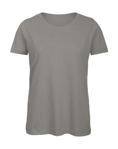 Tričko dámské B&C Jersey - šedé, XL