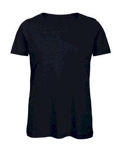 Tričko dámské B&C Jersey - navy, XL