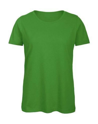 Tričko dámské B&C Jersey - zelené, XL