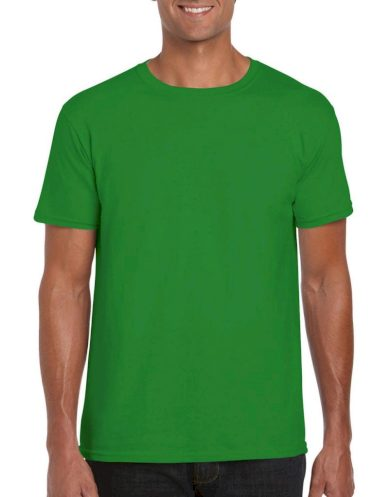Triko Gildan Ring Spun - zelené, XXL
