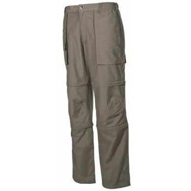 Kalhoty odepínací Fox Microfaser - olivové, L