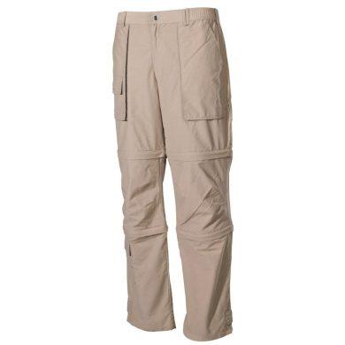 Kalhoty odepínací Fox Microfaser - khaki, S