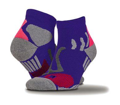 Ponožky Spiro Technical Compression - fialové, S/M