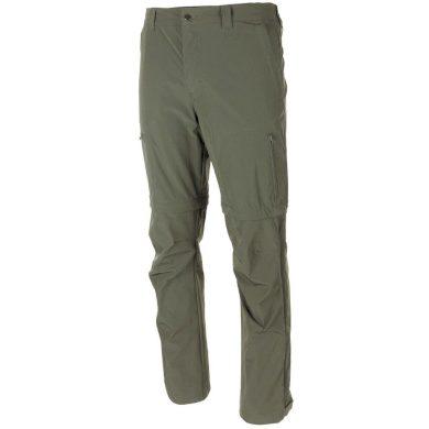 Kalhoty odepínací Fox Rachel - olivové, XXL