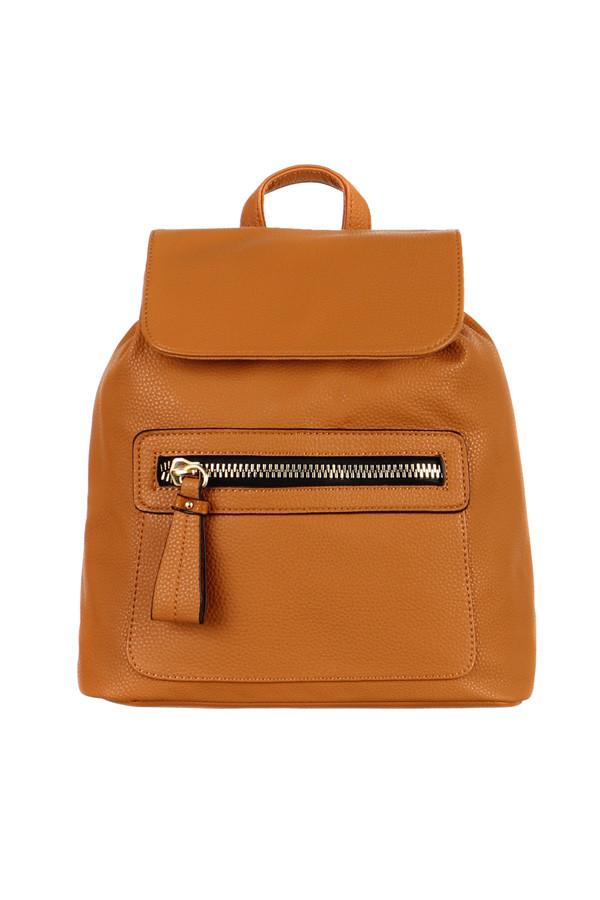 Glara Dámský elegantní koženkový batoh do města 229568