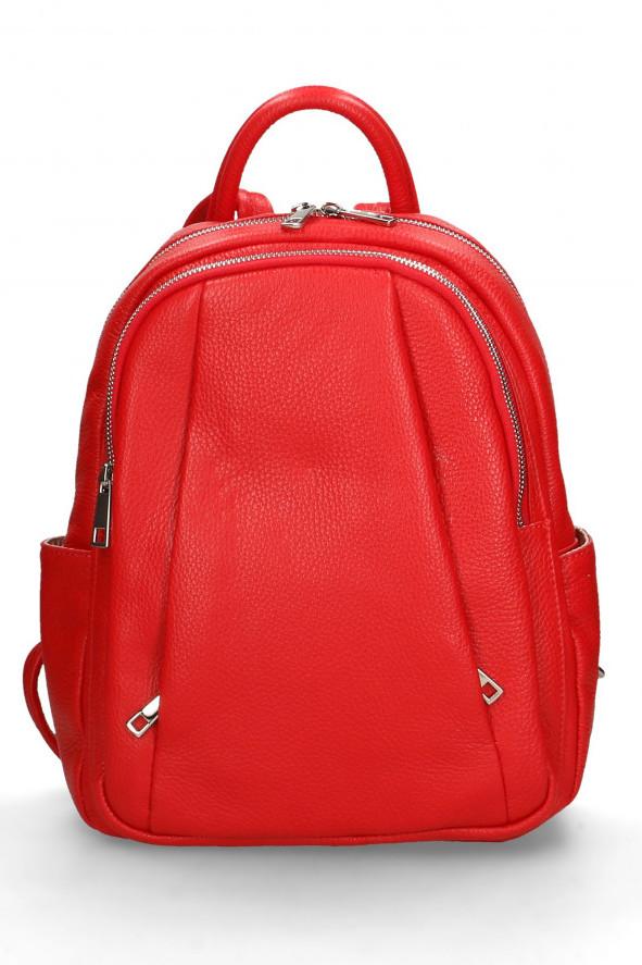 Glara Dámský italský kožený batoh Nicole 641730