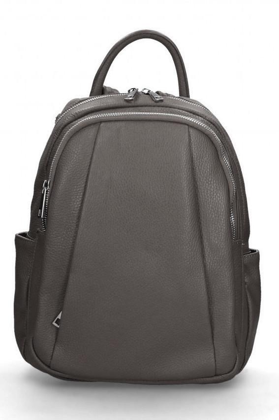 Glara Dámský italský kožený batoh Nicole 666244