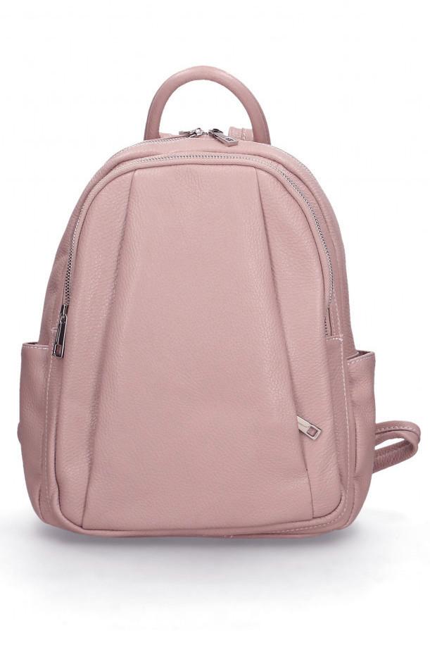 Glara Dámský italský kožený batoh Nicole 666246