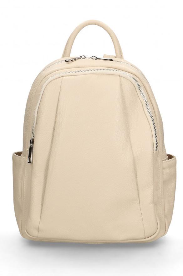Glara Dámský italský kožený batoh Nicole 666247
