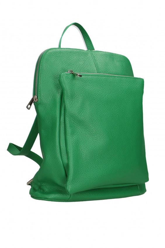 Glara Dámský italský batoh z pravé kůže 2v1 Vittoria 641846