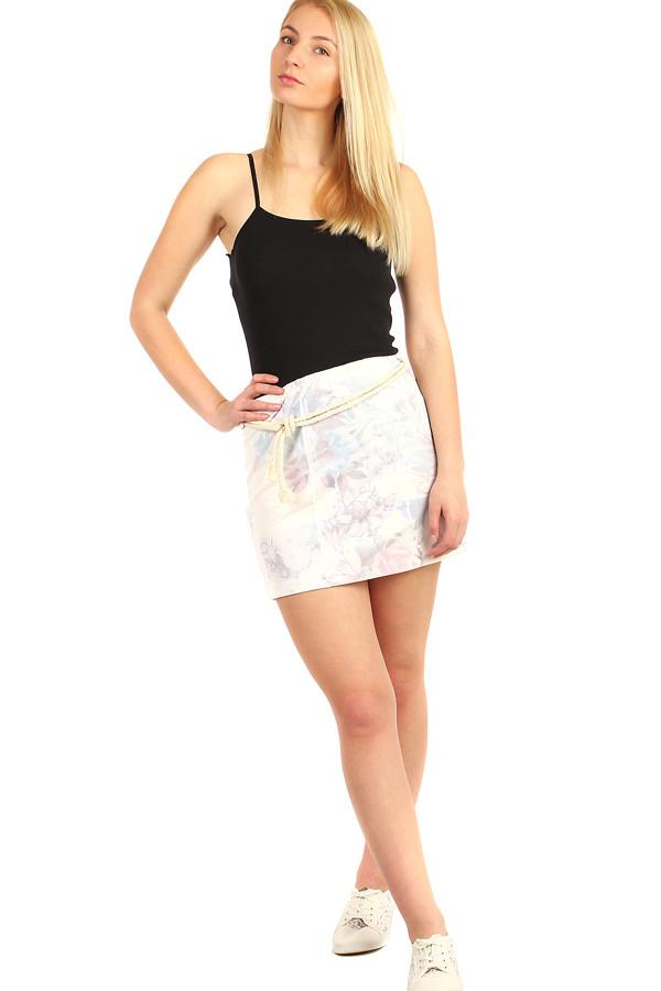 Glara Dámská společenská krátká pouzdrová sukně 212302