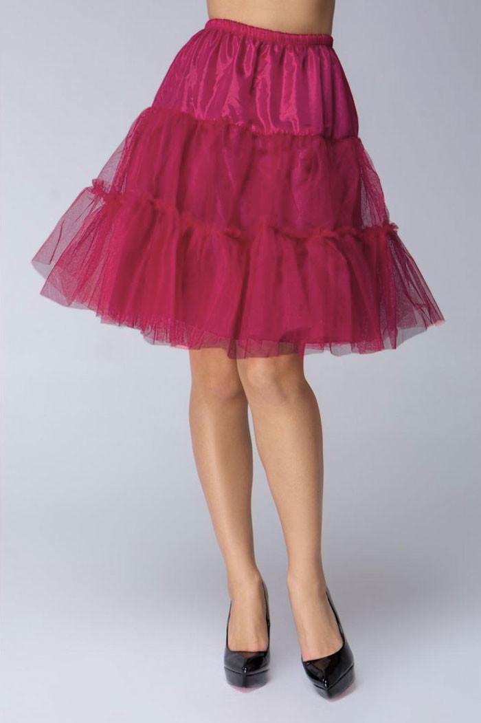 Glara Krátká tylová spodnička pod šaty a sukně 703840