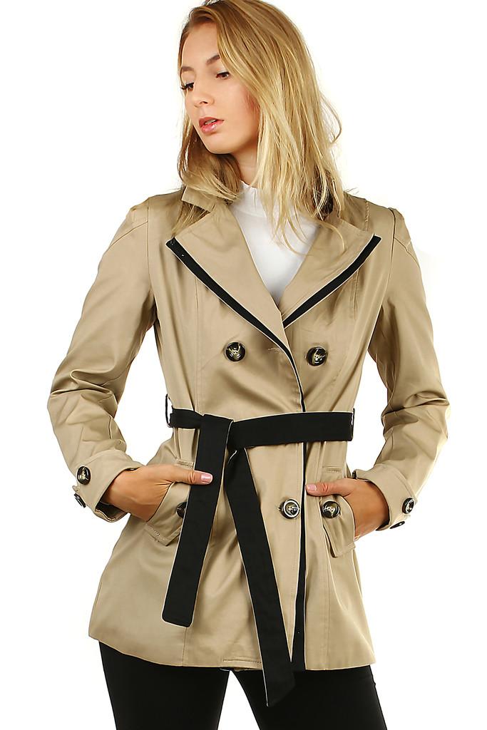 Glara Dámský krátký jarní/podzimní kabátek 478458