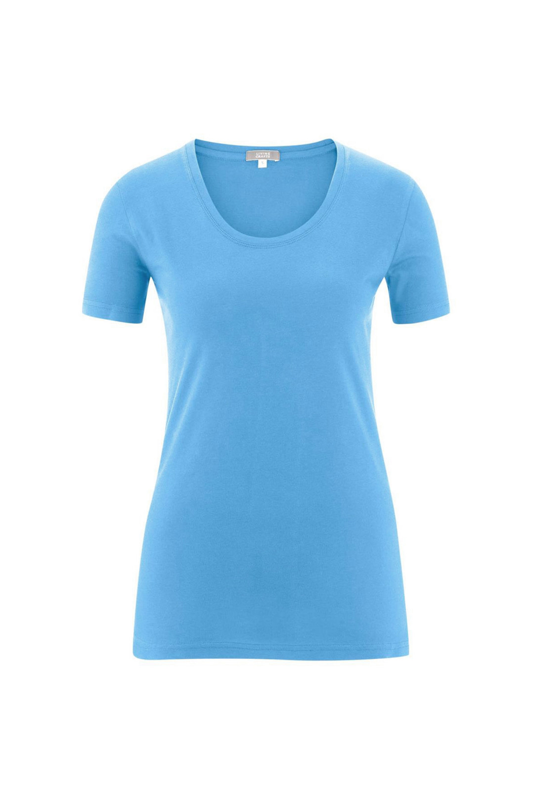 Glara Dámské tričko s krátkým rukávem z organické bavlny 551875