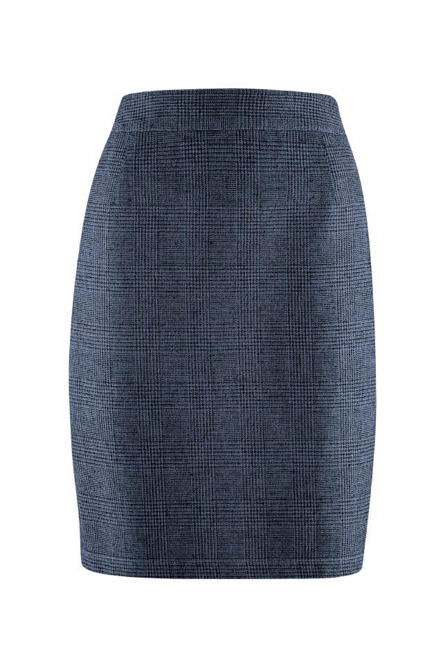 Glara Dámská pouzdrová konopná sukně 557837