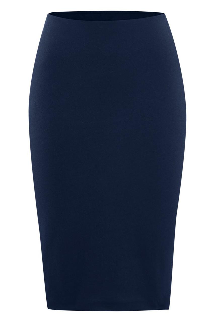 Glara Biobavlněná pouzdrová sukně 568734