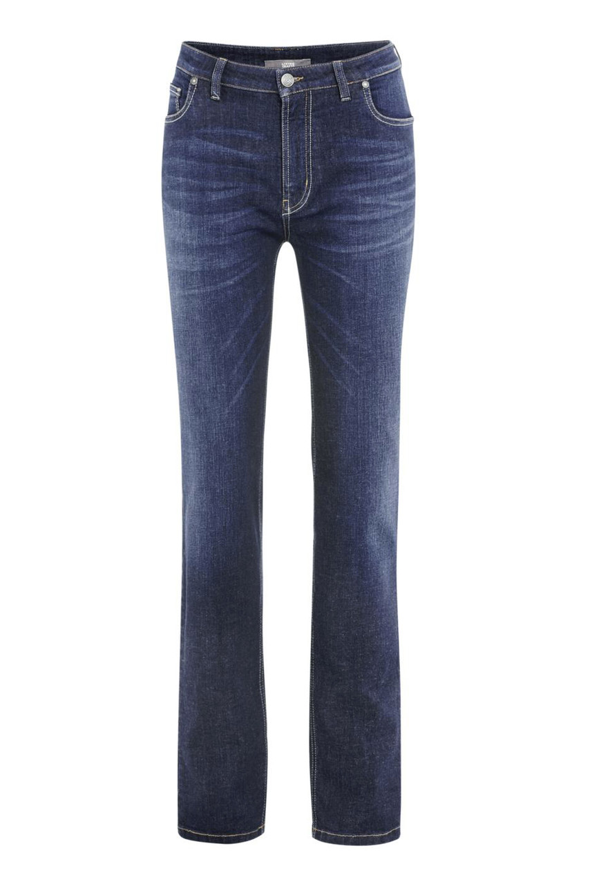 Glara Dámské džíny z organické bavlny 588849