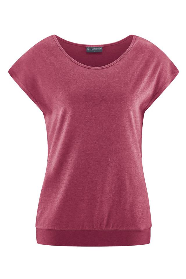 Glara Fitness jednoduché EKO tričko 592631