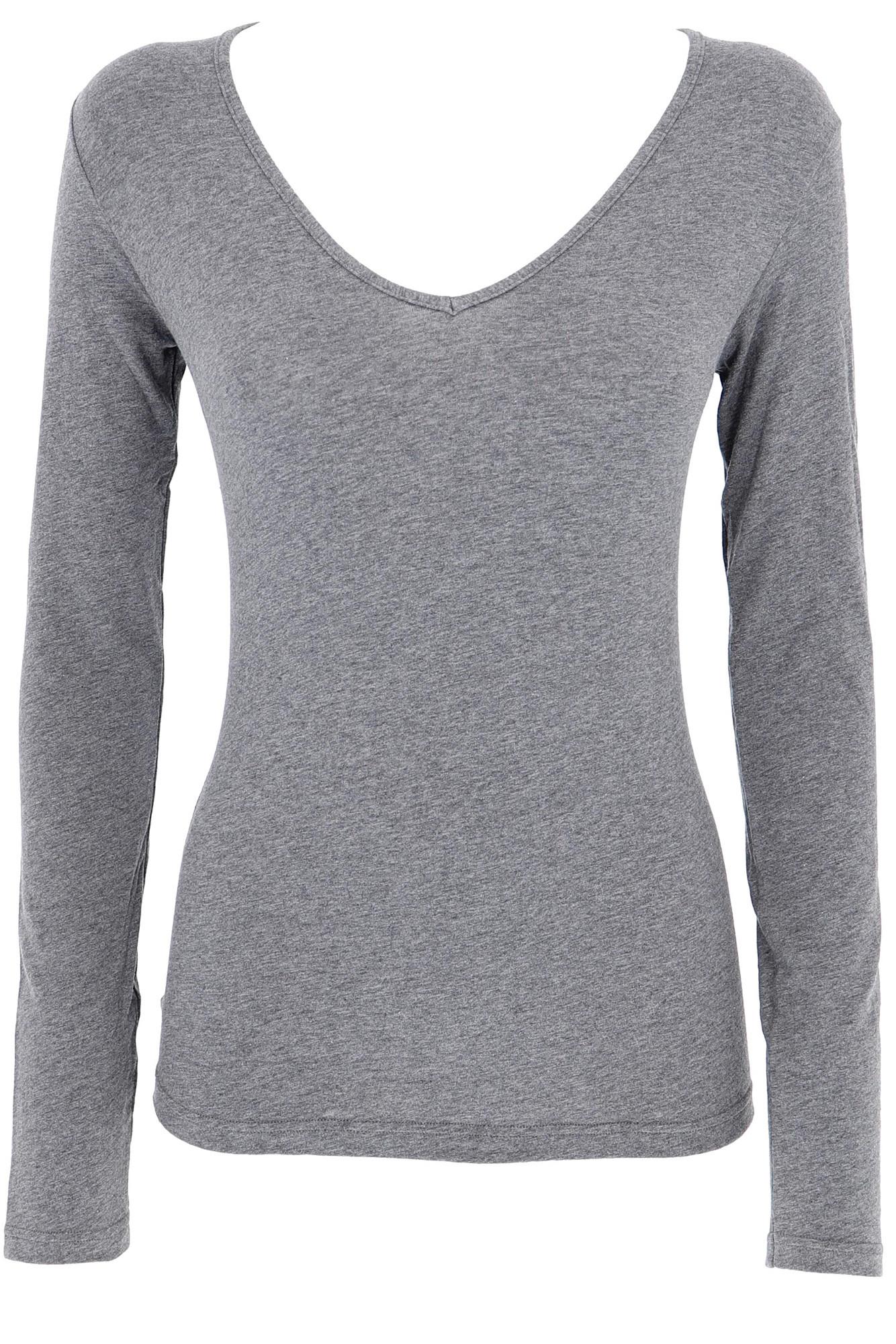 Cotonella Jednobarevné bavlněné tričko s dlouhým rukávem BASIC 660543