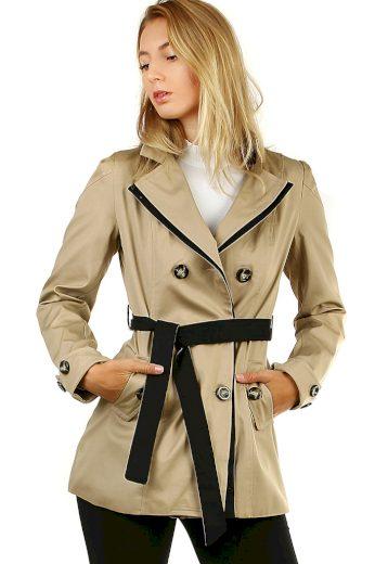 Glara Dámský krátký jarní/podzimní kabátek 478463