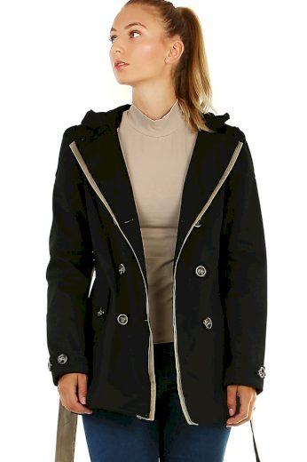 Glara Dámský krátký jarní/podzimní kabátek 478468