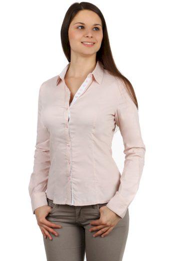 Glara Dámská business košile - dlouhý rukáv 118652