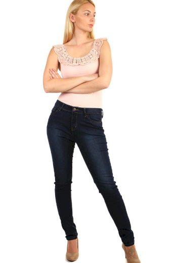 Glara Dámské džíny s vyšším pasem 217105