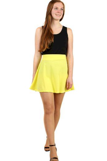 Glara Dámská áčková mini sukně 284474