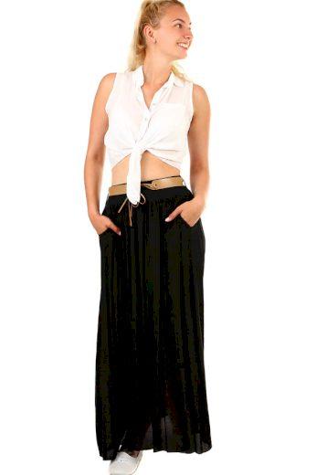 Glara Dámská dlouhá sukně s kapsami 397872
