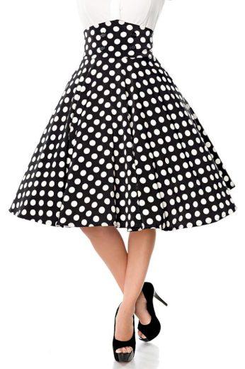 Glara Dámská vintage sukně 423623