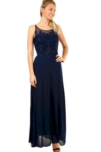 Glara Dlouhé společenské šaty na ples 418241