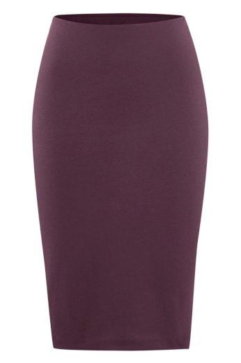 Glara Biobavlněná pouzdrová sukně 568730
