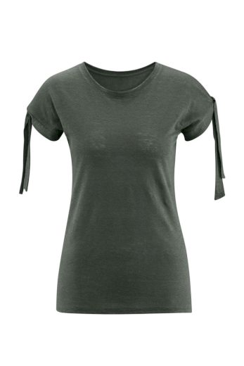 Glara Dámské lněné tričko 610978
