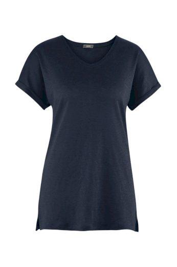 Glara Dámské letní tričko ze lnu 611139