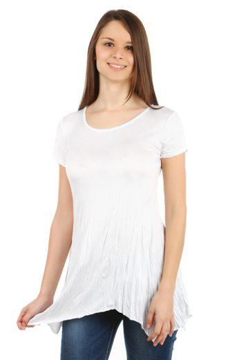 Glara Dámské delší tričko s krátkým rukávem 39887