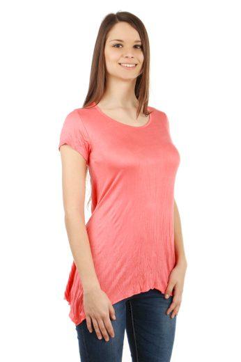 Glara Dámské delší tričko s krátkým rukávem 39890