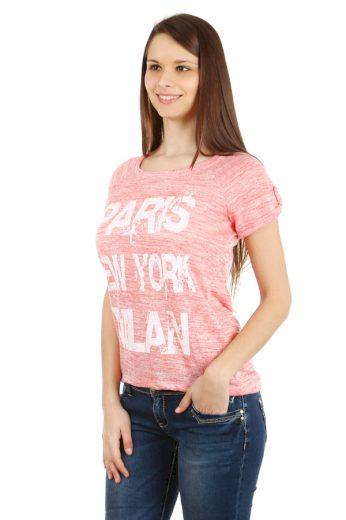 Glara Dámské melírované tričko Paris 40500