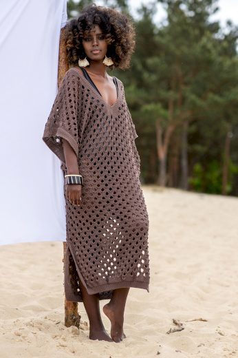 Glara Letní šaty k vodě z bambusu 711137