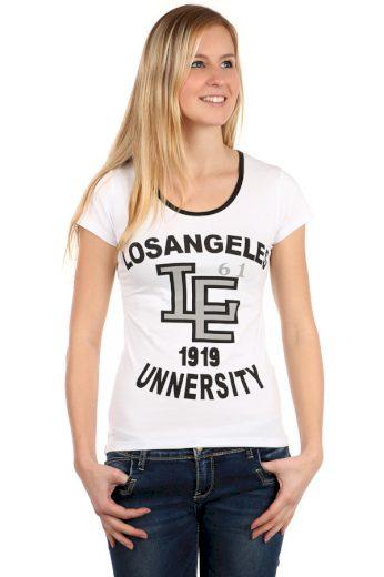 Glara Dámské bavlněné tričko LA 105523