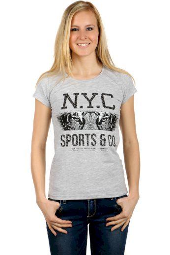 Glara Dámské tričko NYC 124219