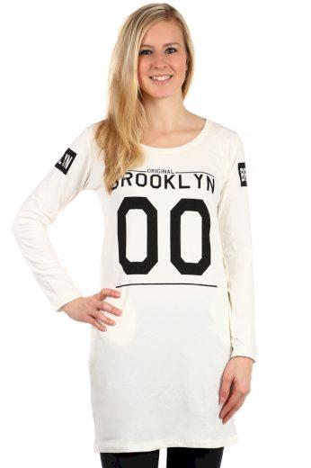 Glara Dámské pohodlné tričko s potiskem Brooklyn 126270