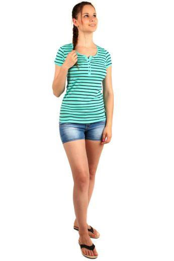 Glara Dámské pruhované tričko 141138