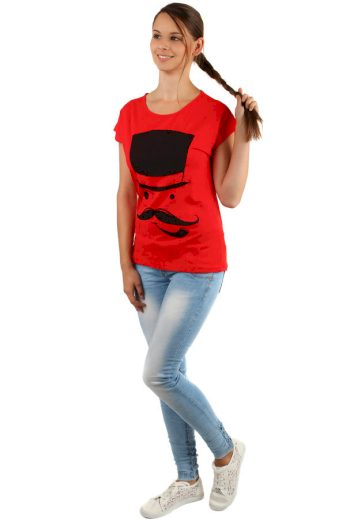Glara Dámské volné tričko 156570