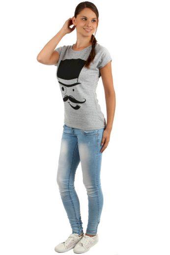Glara Dámské volné tričko 156576
