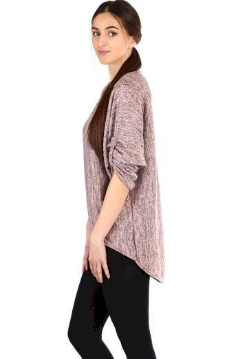 Glara Volné dámské tričko s tílkem 2v1 304320