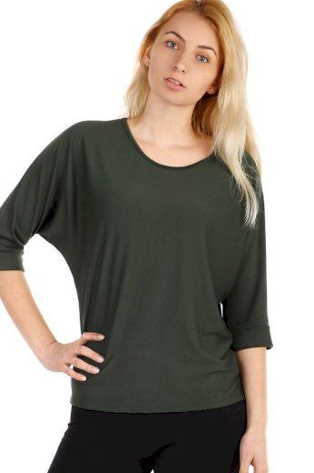Glara Dámské tričko s tříčtvrtečním rukávem 308078