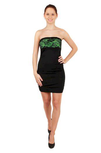 Glara Společenské mini šaty bez ramínek 32415